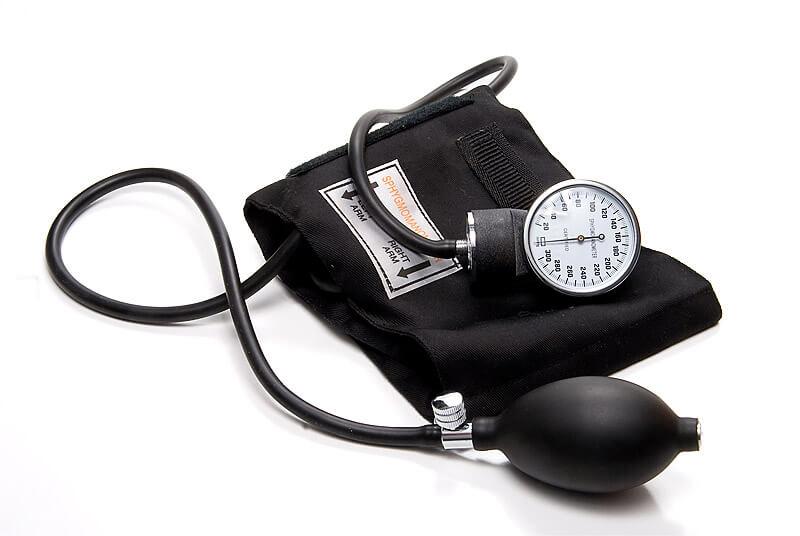 Sphygmomanometer zum Messen von Hypotonie (niedriger Blutdruck)