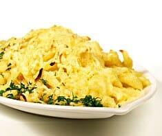 Überbackene Käsespätzle | Rezept