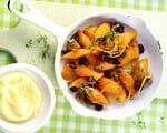 Zitronen-Karotten mit Kartoffelpüree | Rezept
