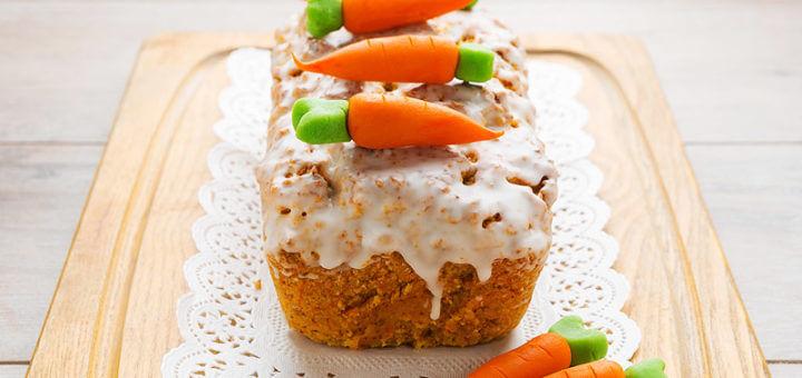 Karottenkuchen mit Haselnüssen