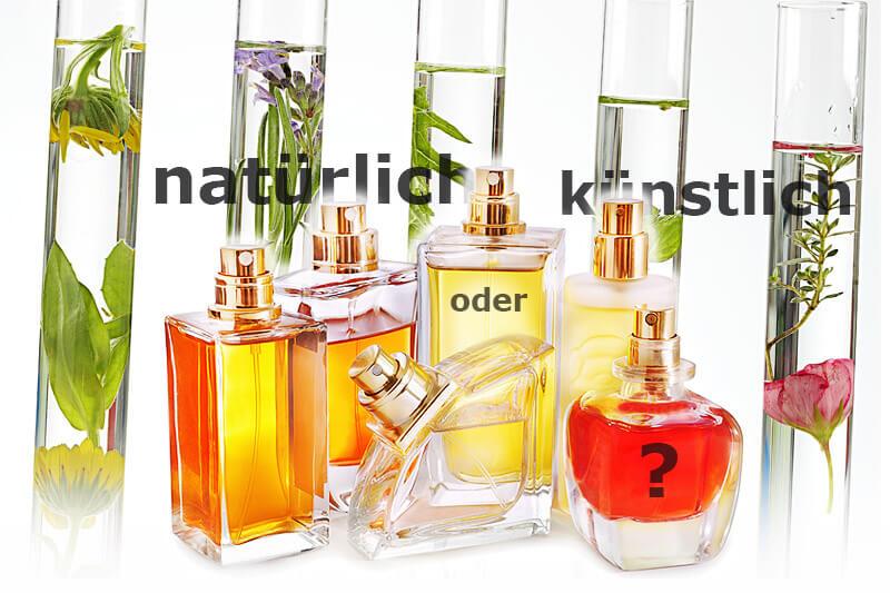 Natürliche oder synthetische Duftstoffe?