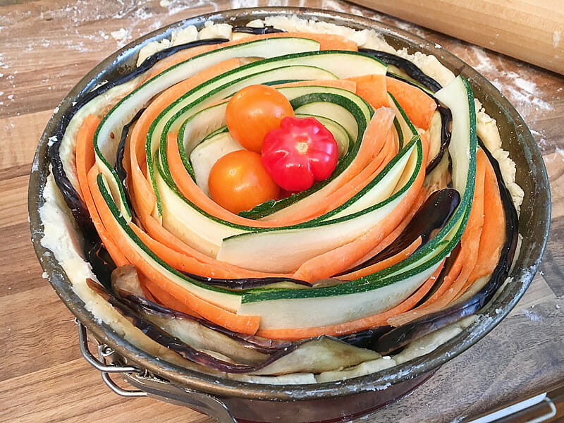 Veggie-Tarte