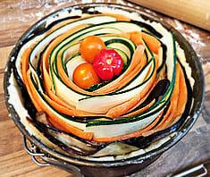 Veggie-Tarte | Rezept