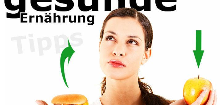 10 Faustregeln für eine gesunde Ernährung