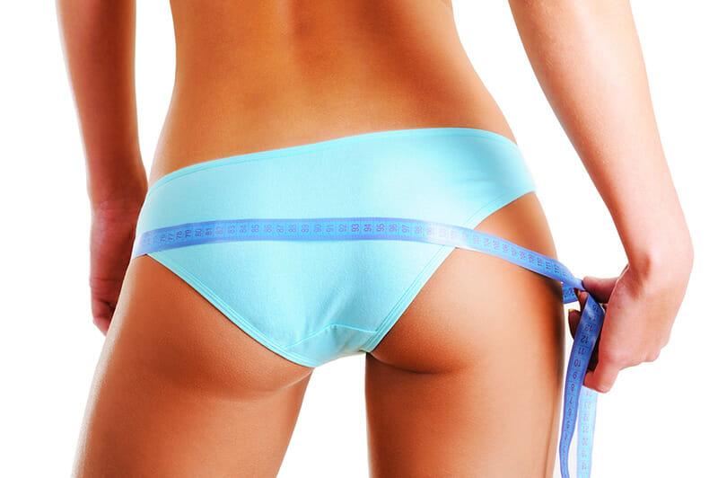 Diätlügen - Frau mit Bikinifigur