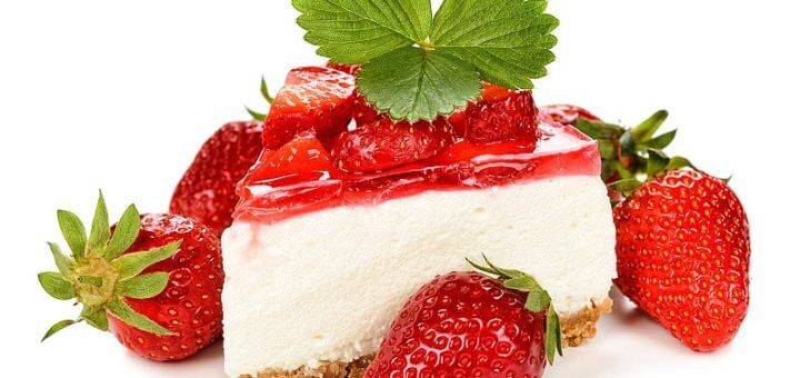 Erdbeer Cheesecake | Rezept