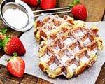 Erdbeerwaffeln | Rezept