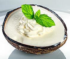 Leichtes Kokoseis Rezept
