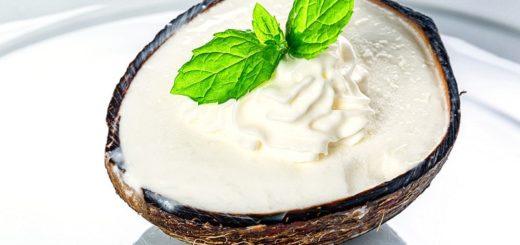 Leichtes Kokoseis | Rezept
