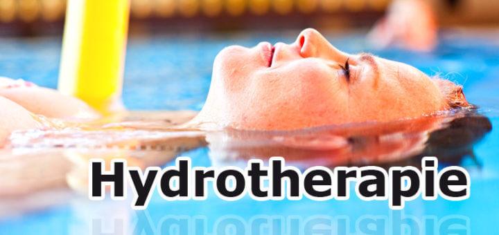 Hydrotherapie - heilen mit Wasser