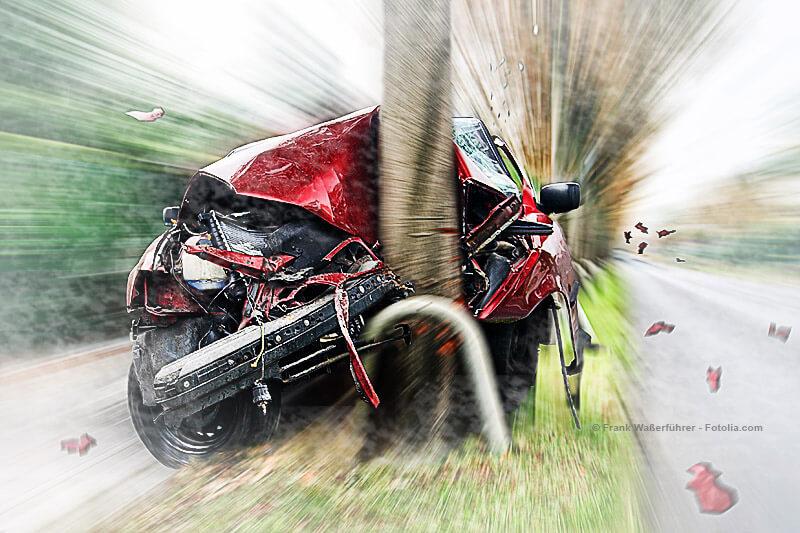 Unfallrisiko Herbstnebel
