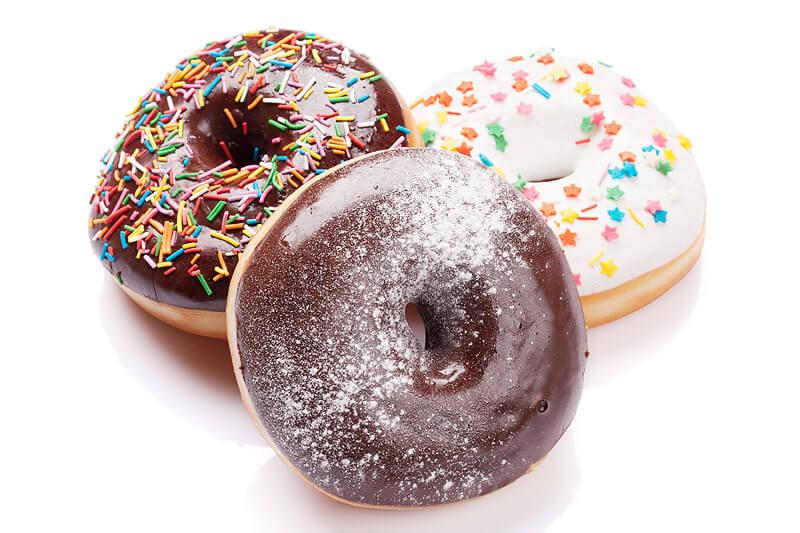 köstliche Schoko Donuts