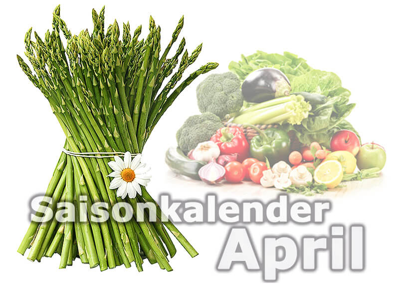 Saisonkalender Obst & Gemüse | April