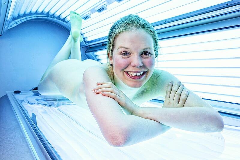 Solarium: Vorbräunen gegen Sonnenbrand?