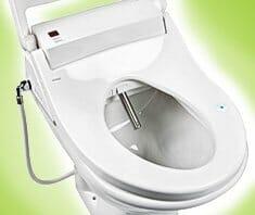 Wellness für den Po: Dusch-WC als neuer Trend