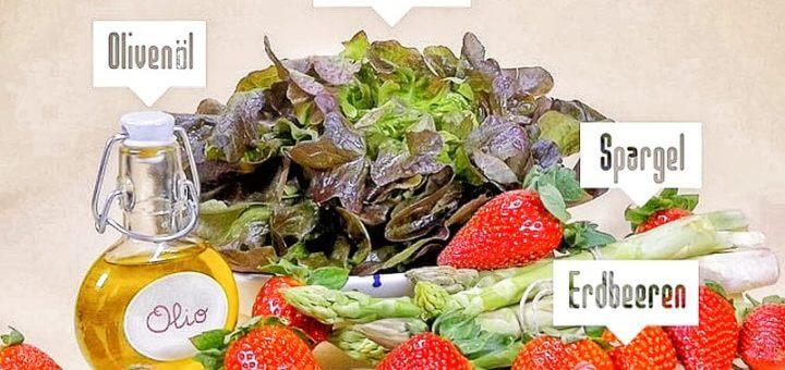 Erdbeer-Spargel-Salat | Rezept
