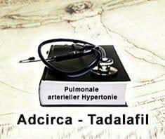 Medikament Adcirca - Tadalafil zur Behandlung von pulmonaler arterieller Hypertonie