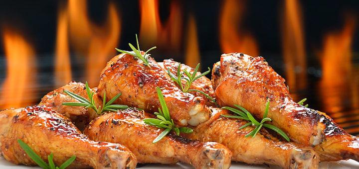 Chicken Drumsticks vom Grill | Rezept