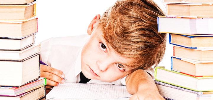 Schulstress bei Kindern und Jugendlichen reduzieren