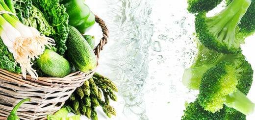 Lutein im Gemüse