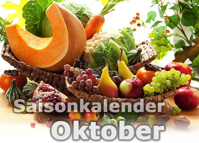Saisonkalender Obst & Gemüse | Oktober