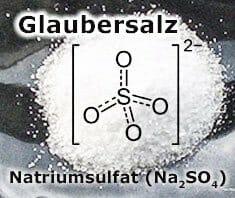 Glaubersalz – Wirkung und Anwendung von Natriumsulfat