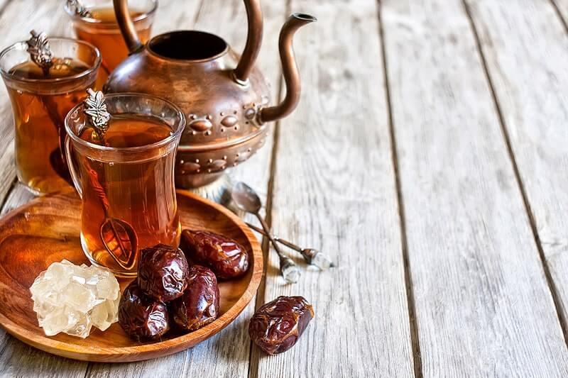Arabischer Tee - nur eine von vielen Zubereitungsformen