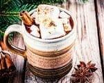Heiße Gewürzschokolade mit Marshmellows | Rezept