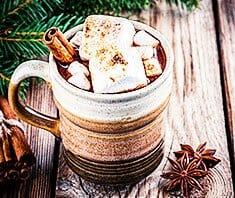 Heiße Gewürzschokolade mit Marshmallows | Rezept