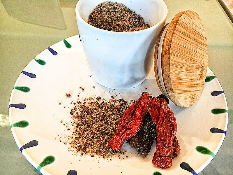 Tomatensalz selbst gemacht | Rezept