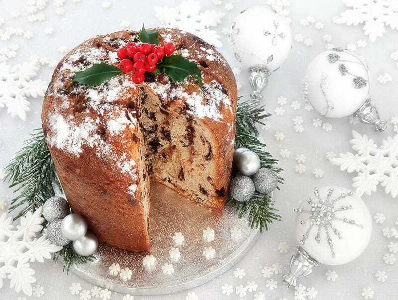 Weihnachts-Panettone