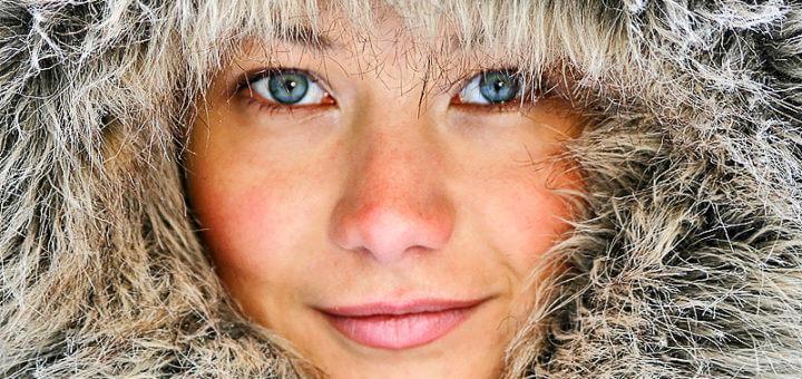 Kälte – Stress für die Haut
