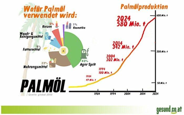 Palmöl Infografik