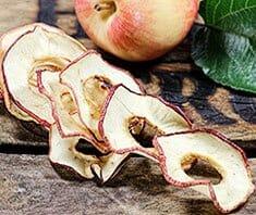 Apfelchips selbstgemacht | Rezept