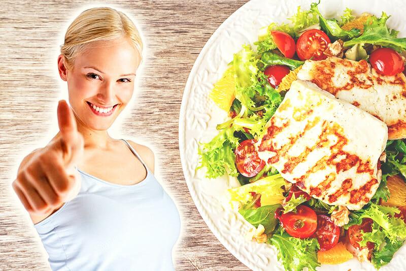 Reichhaltiges Frühstück zur Gewichtsreduktion