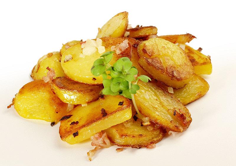 die perfekten Bratkartoffeln
