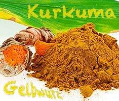 Kurkuma - gelbe Heilwurzel und Gewürz