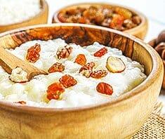 Reis Congee – ein Reisbrei gibt Energie
