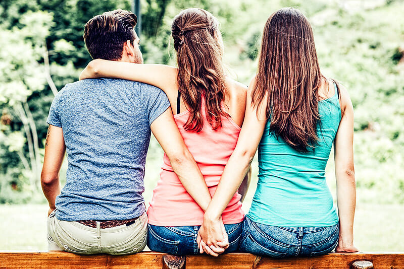 Polyamorie - Liebesbeziehungen zu mehr als einem Menschen