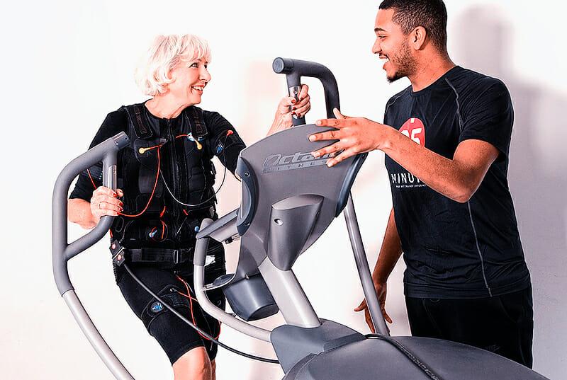 EMS-Training Muskelstimulation mittels Strom