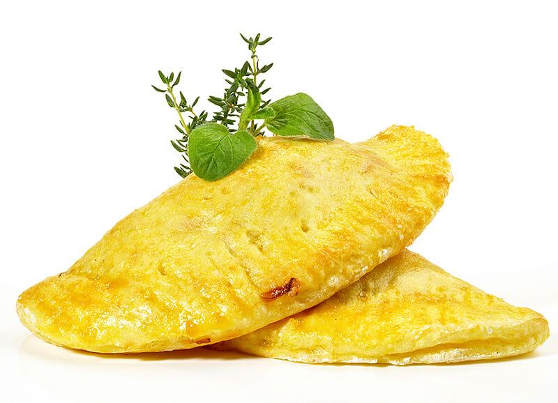 Piroggen mit Kartoffelfüllung - Piroschki
