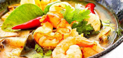 Tom Yam Gung Suppe | Rezept