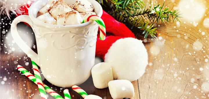 Weihnachtliche Trinkschokolade