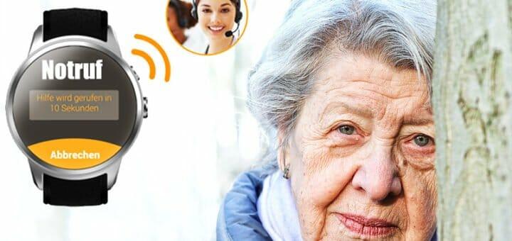 Heimnotruf 2.0: Notruf Watch gibt ortsunabhängig Sicherheit