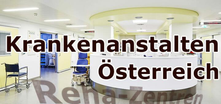 Krankenhaussuche Österreich