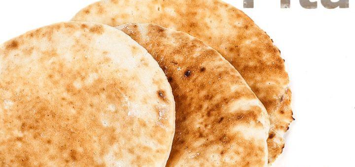 Pita Fladenbrot selber machen | Rezept