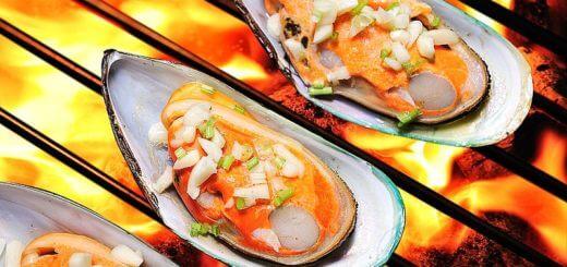 Muscheln vom Grill | Rezept