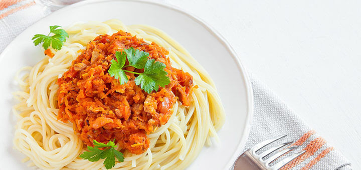 Spaghetti bolognese vegetarisch | Rezept