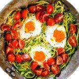 Eier-Zucchini Pfanne | Rezept