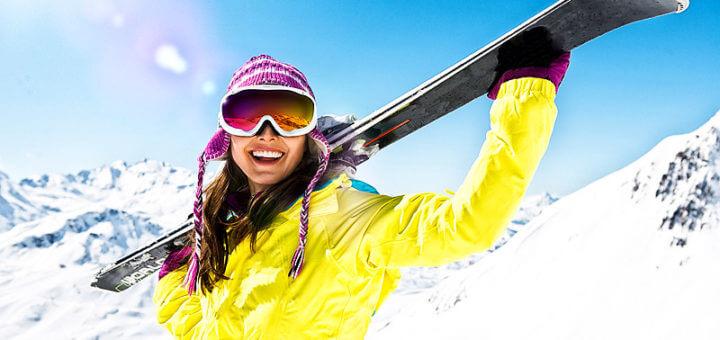 Gesundheitssteigerung durch Skifahren